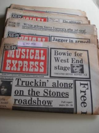 NEW MUSICAL EXPRESS. 6 NÚMEROS 1973.  LONDON (UK) - Ver os detalles do produto