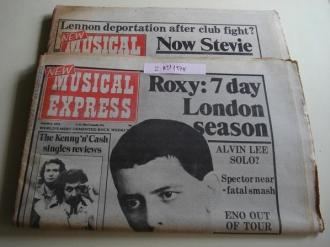 NEW MUSICAL EXPRESS. 2 NÚMEROS 1974.  LONDON (UK) - Ver os detalles do produto