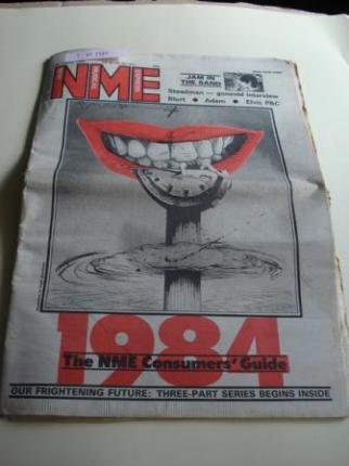 NEW MUSICAL EXPRESS. 23 August, 1980.  LONDON (UK) - Ver os detalles do produto