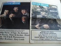Ver os detalles de:  RECORD MIRROR. August, 13 -  October, 29 - 1966 . LONDON (UK)