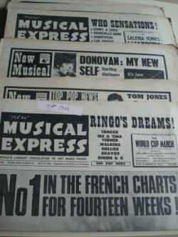 Ver os detalles de:  NEW MUSICAL EXPRESS. 14 NÚMEROS 1966. LONDON (UK)