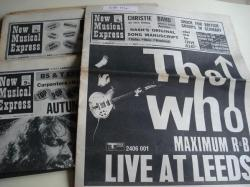 Ver os detalles de:  NEW MUSICAL EXPRESS. 10 NÚMEROS 1970. LONDON (UK)