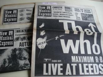 NEW MUSICAL EXPRESS. 10 NÚMEROS 1970. LONDON (UK) - Ver os detalles do produto
