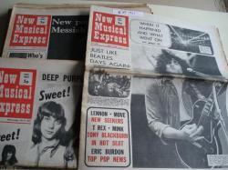 Ver os detalles de:  NEW MUSICAL EXPRESS. 16 NÚMEROS 1971. LONDON (UK)