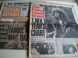 NEW MUSICAL EXPRESS. January 1  - January, 8  - February, 19 (1972) . LONDON (UK)   - Ver os detalles do produto