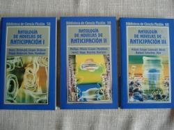 Ver os detalles de:  Antología de novelas de anticipación. 3 volúmenes