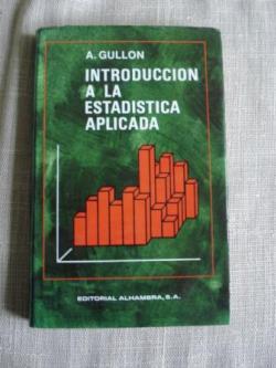 Ver os detalles de:  Introducción a la estadística aplicada