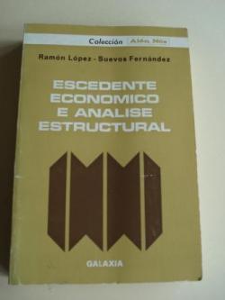 Ver os detalles de:  Escedente económico e análise estructural
