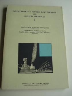 Ver os detalles de:  Inventario das fontes documentais da Galicia medieval