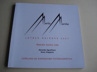 María Mariño. Retrato dunha vida. Catálogo da Exposición Fotobiográfica Letras Galegas 2007 - Ver os detalles do produto