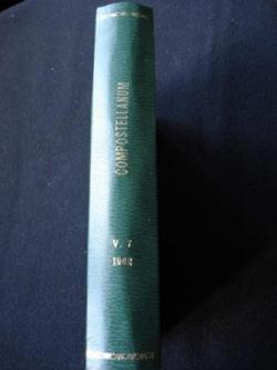Ver os detalles de:  COMPOSTELLANUM. 1962 Revista de la Archidiócesis de Santiago de Compostela
