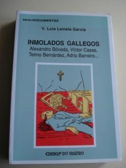 Ver os detalles de:  Inmolados gallegos. Alexandro Bóveda, Víctor Casas, Telmo Bernárdez, Adrio Barreiro...
