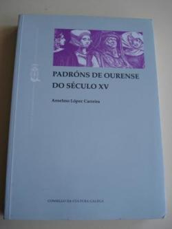 Ver os detalles de:  Padróns de Ourense do século XV