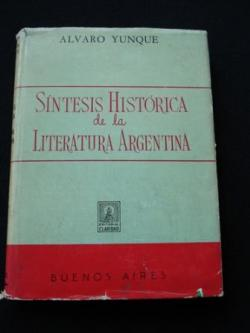 Ver os detalles de:  Síntesis Histórica de la Literatura Argentina