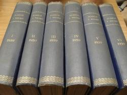 Ver os detalles de:  REVISTA BLANCO Y NEGRO. 6 TOMOS. NÚMEROS 2435 a 2486. AÑO 1959 COMPLETO. DEL 6-1-1958 AL 27-12-1959