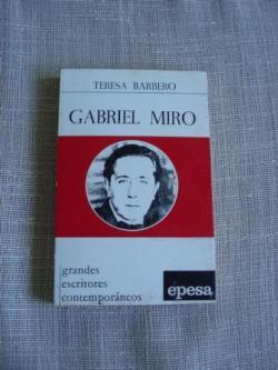 Ver os detalles de:  Gabriel Miró