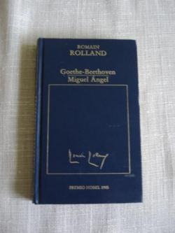 Ver os detalles de:  Goethe-Beethoven / Miguel Ángel