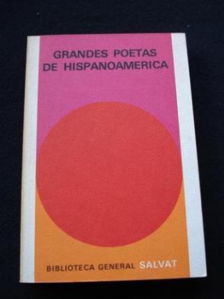 Grandes poetas de Hispanoamérica del siglo XV al XX - Ver os detalles do produto
