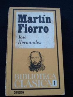 Ver os detalles de:  Martín Fierro