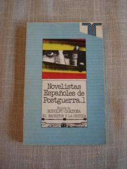 Ver os detalles de:  Novelistas Españoles de Postguerra. 1