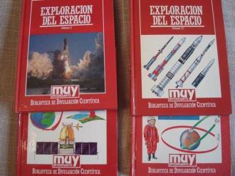 Exploración del espacio. 4 volúmenes - Ver os detalles do produto