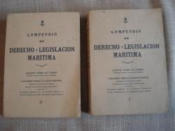 Ver os detalles de:  Compendio de derecho y legislación marítima. 2 tomos
