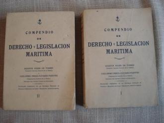 Compendio de derecho y legislación marítima. 2 tomos - Ver os detalles do produto