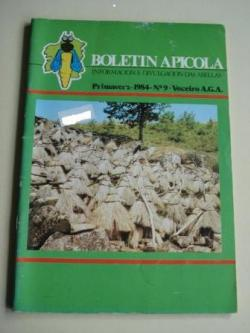Ver os detalles de:  BOLETÍN APÍCOLA. Información e divulgación das abellas. Nº 9. Primavera 1984. Asociación Galega de Apicultura (A.G.A.)