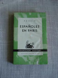 Ver os detalles de:  Españoles en París