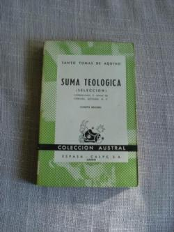 Ver os detalles de:  Suma Teológica (selección)
