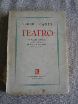Ver os detalles de:  Teatro: El malentendido / Calígula / El estado de stito / Los Justos