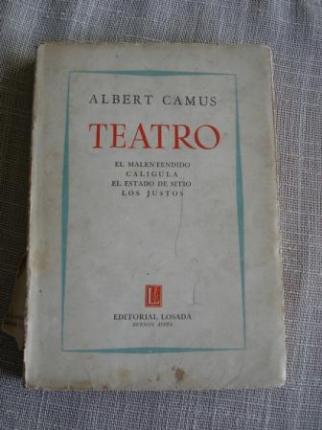 Teatro: El malentendido / Calígula / El estado de stito / Los Justos - Ver os detalles do produto