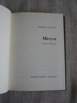Ver os detalles de:  Mireya. Poema provenzal