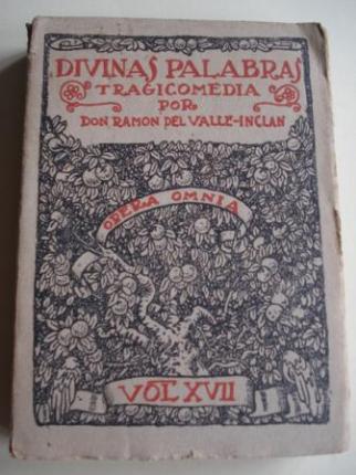 Divinas palabras. Primera edición completa. Volumen XVII de la OPERA OMNIA - Ver os detalles do produto
