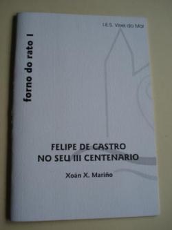 Ver os detalles de:  Felipe de Castro no seu III centenario