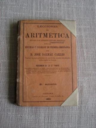 Lecciones de Aritmética aplicadas a las diferentes cuestiones mercantiles. Resumen de la 2ª parte - Ver los detalles del producto