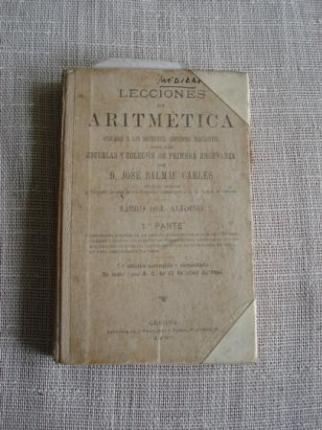 Lecciones de Aritmética aplicadas a las diferentes cuestiones mercantiles. Libro del alumno.1ª parte - Ver los detalles del producto