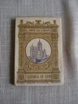 Ver os detalles de:  El Arte en España. Catedral de León