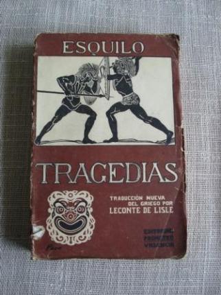 Tragedias. Traducción nueva del griego por Leconte de Lisle - Ver os detalles do produto
