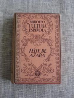 Ver os detalles de:  Félix de Azara