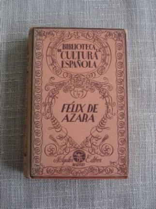 Félix de Azara - Ver os detalles do produto