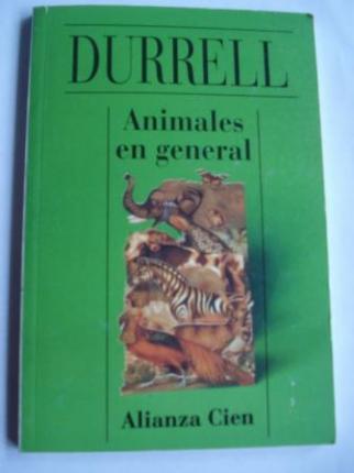 Animales en general (Alianza Cien, nº 32) - Ver os detalles do produto