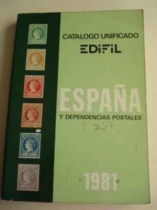 CATÁLOGO UNIFICADO EDIFIL, 1981, ESPAÑA Y DEPENDENCIAS POSTALES - Ver os detalles do produto