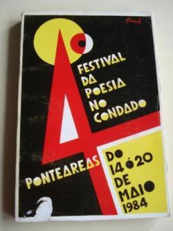Ver os detalles de:  4º Festival da poesía no Condado. Ponteareas, do 14 ó 20 de maio, 1984