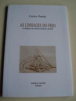Ver os detalles de:  As linhages do frio (VI Premio de poesía Espiral Maior)