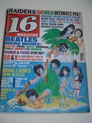 REVISTA 16 MAGAZINE. AGOSTO 1966 - Ver os detalles do produto