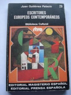 Ver os detalles de:  Escritores europeos contemporáneos