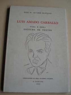 Ver os detalles de:  Luis Amado Carballo. Vida e obra. Escolma de textos