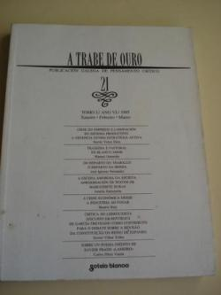 Ver os detalles de:  A TRABE DE OURO. Publicación galega de pensamento crítico. Nº 21 - Tomo I. Xaneiro-Febreiro-Marzo, 1995, 1992