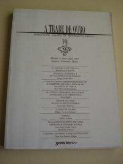 Ver os detalles de:  A TRABE DE OURO. Publicación galega de pensamento crítico. Nº 29 - Tomo I. Xaneiro-Febreiro-Marzo, 1997, 2000